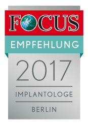 FCGA Regiosiegel 2017 Implantologe Berlin 2